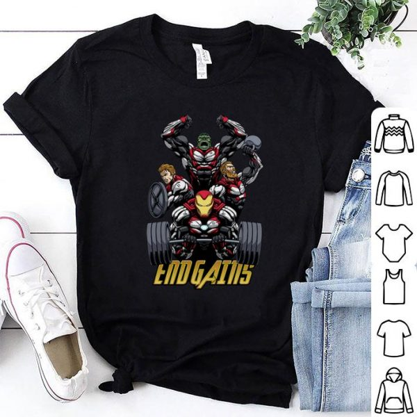 Marvel Avengers Endgame GYM shirt