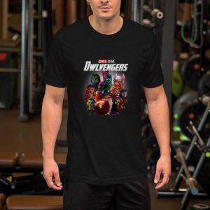 Marvel Owl Owlvengers Avengers Endgame shirt