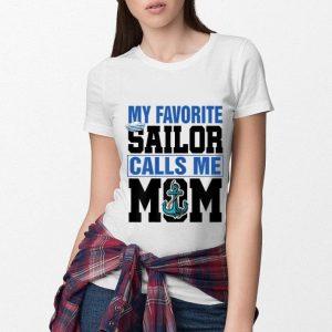 My favorite sailor calls me mom shirt 2