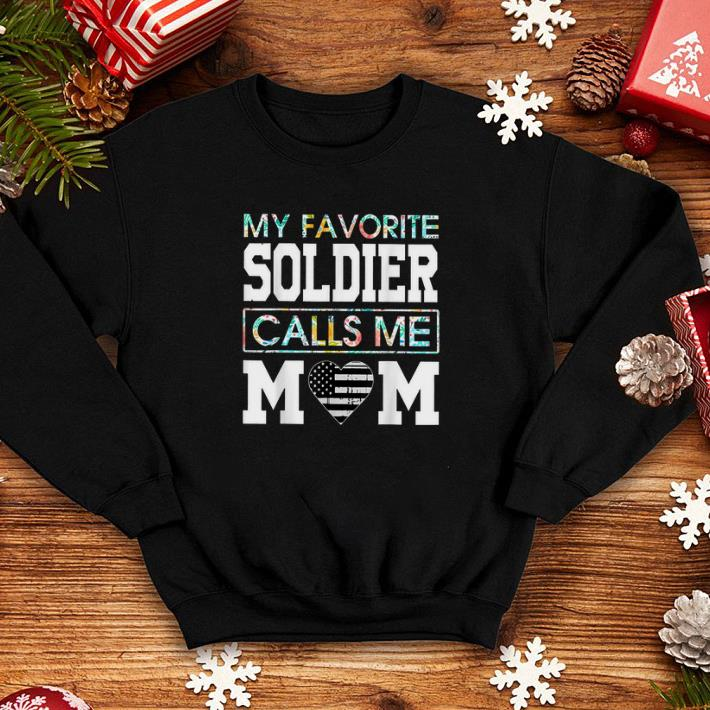 My favorite soldier calls me mom shirt 4 - My favorite soldier calls me mom shirt
