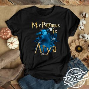 My patronis is Arya Stark GOT Game of Thrones shirt