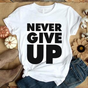 Never Give Up Mohamed Salah shirt