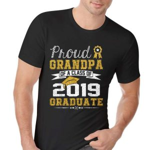 Proud Grandpa Of A Class Of 2019 Graduate shirt 1
