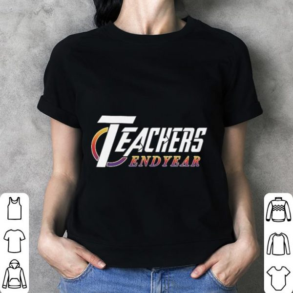 Teachers Endyear Avengers Endgame shirt