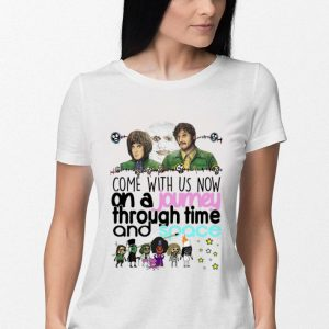 The Mighty Boosh Come with us now an a journey through time shirt 2