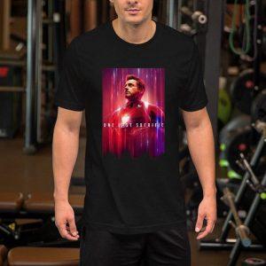 Tony Stark One last sacrifice Iron Man shirt