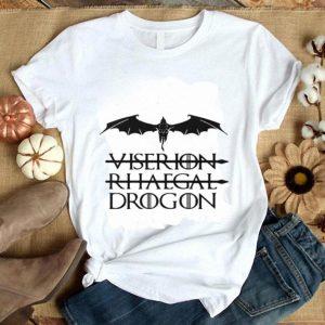 Viserion Rhaegal Drogon Game Of Thrones shirt