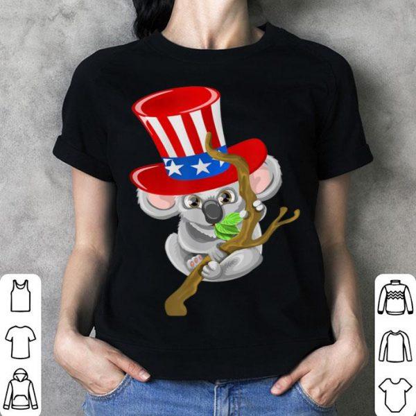 4th Of July Koala Usa Hat Patriotic shirt