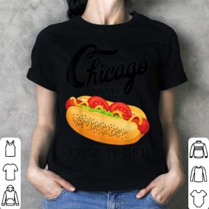 4th Of July No Ketchup Chicago Style Hot Dog Summer shirt