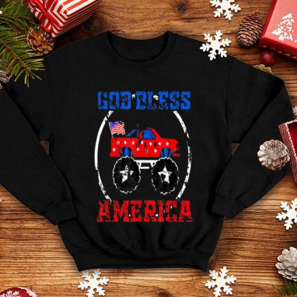 4th of July God bless America for Independence Day shirt