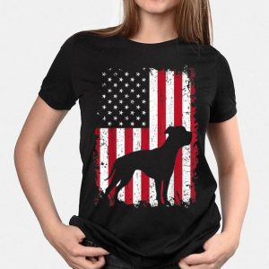American Bulldog 4th Of July American Usa Flag shirt