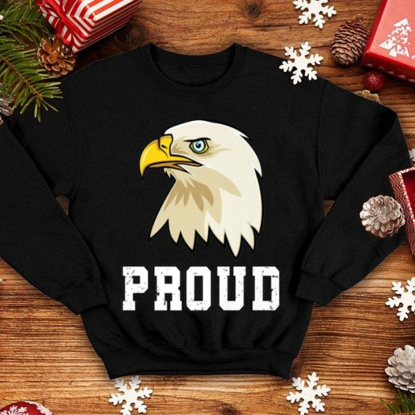 American Flag 4th Of July Love Proud USA Bald Eagle shirt