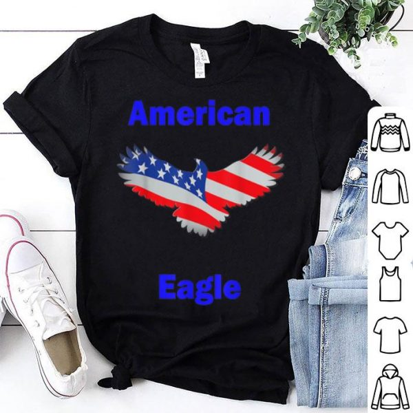 American Flag Eagle for 4th of July shirt