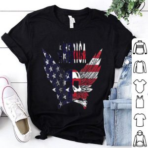 American Flag Skull and Crossbones shirt