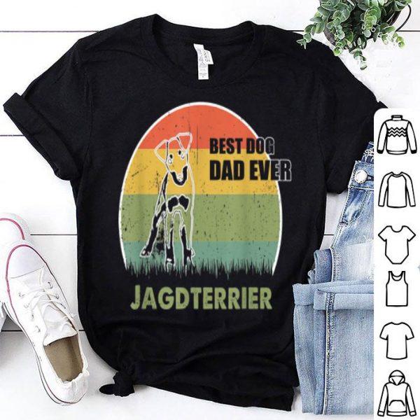 Best Dog Dad Ever Jagdterrier Father Day 2019 shirt