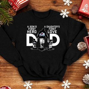 Colorado Avalanche a Son's first hero a Daughter's first love shirt