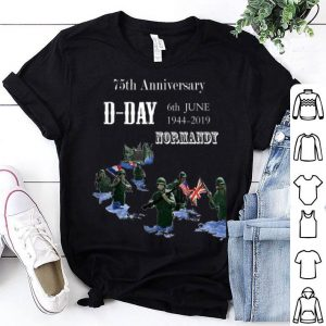 D-Day 75 Year Anniversary Normandie shirt