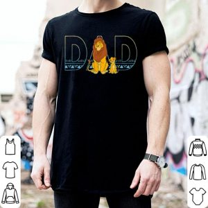 Dad Lion King and son shirt