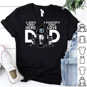 Dallas Mavericks a Son's first hero a Daughter's first love shirt