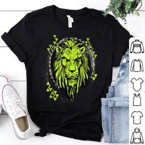 Disney The Lion King Scar Geometric Circle shirt