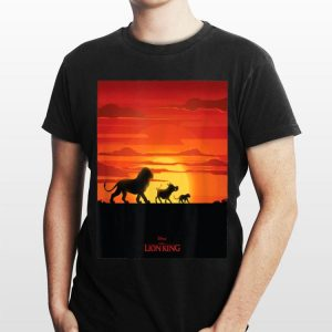 Disney The Lion King Simba Hakuna Matata Walk Poster shirt