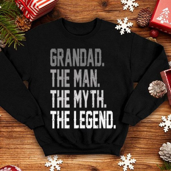 Father Day Grandad The Man The Myth The Legend shirt