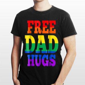 Free Dad Hugs Lgbt shirt