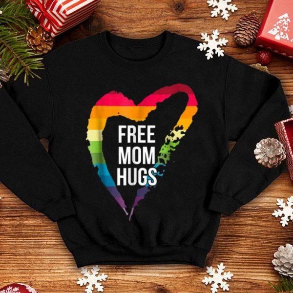 Free Mom Hugs Heart Rainbow Lgbt shirt