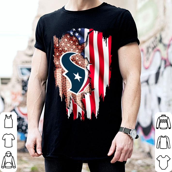 Houston Texans American Flag Shirt Hoodie Sweater