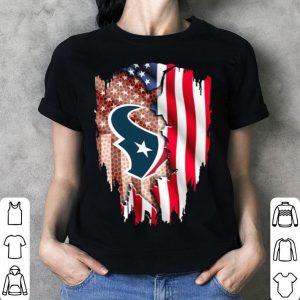 Houston Texans American flag shirt