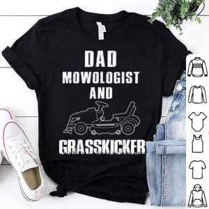Lawn Mowing Dad Fathers Day shirt