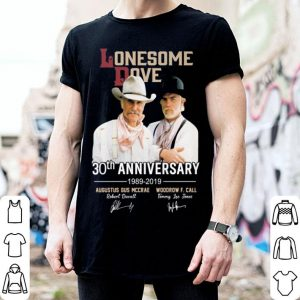 Lonesome dove 30th anniversary 1989-2019 signatures shirt