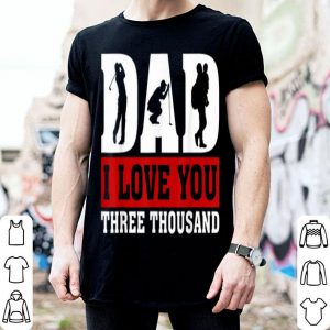 Love You Dad 3000 Golf Father Day shirt