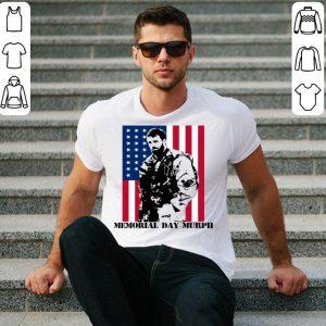 Memorial Day Murph American flag shirt