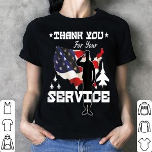 Memorial Day Service USA Flag shirt