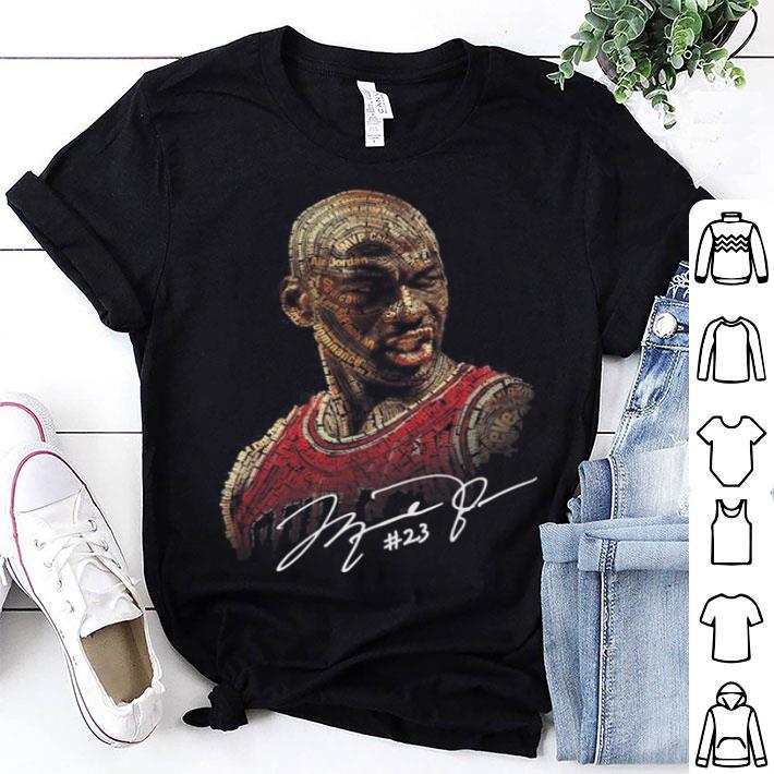 pas mal a4d2d 2e673 Michael Jordan signature shirt