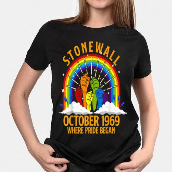 October Stonewall Riots 50th Rainbow LGBT shirt