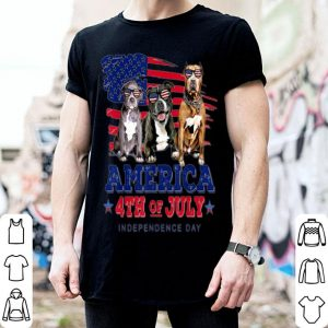 Pitbull Freedom 4th Of July Independence Day shirt