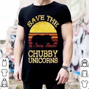 Rhino Save the chubby unicorns shirt