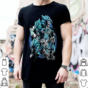 Son Goku fusion Vegeta Dragon ball z shirt