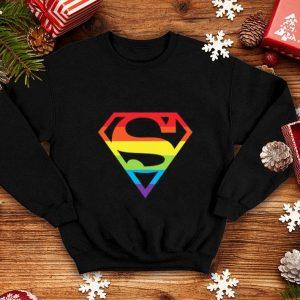 Superman Gay Pride Logo LGBT shirt
