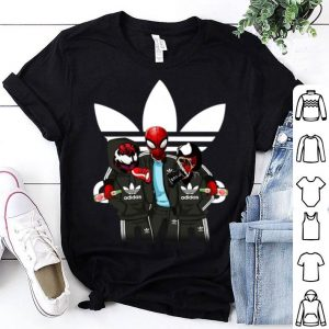 Venom and Spiderman Adidas shirt