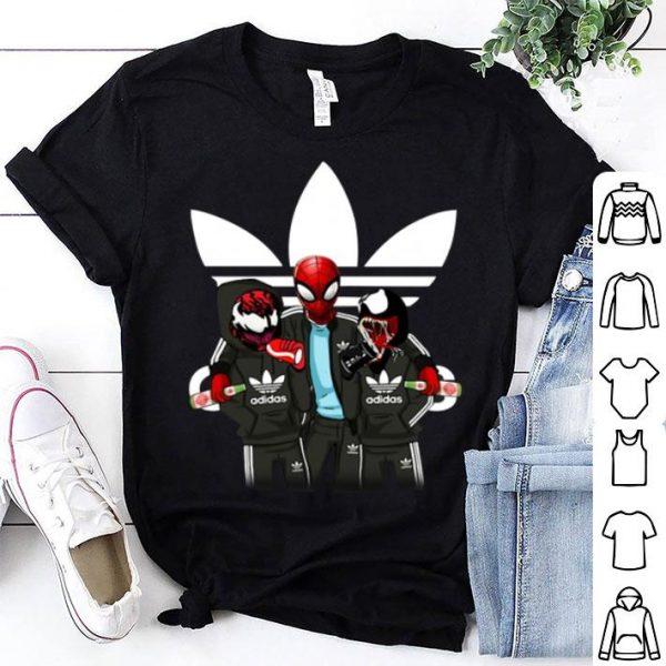 Venom and Spiderman Adidas shirt