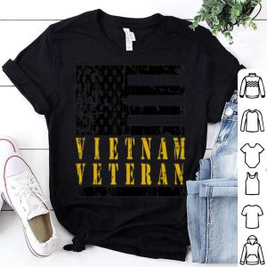 Vietnam Veteran American Flag shirt