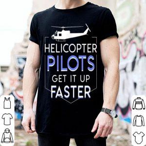 Vintage American USA Huey Helicopter Military Pilot shirt