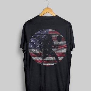 Vintage Tennis 4th Of July American Flag shirt