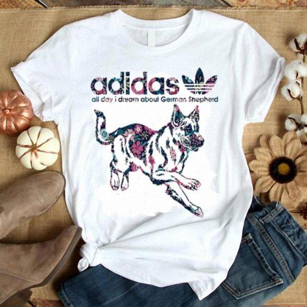 adidas all day i dream about German Shepherd shirt