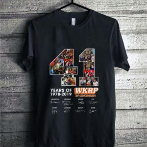 41 Years Of WKRP in Cincinnati 1978-2019 Signatures shirt sweater
