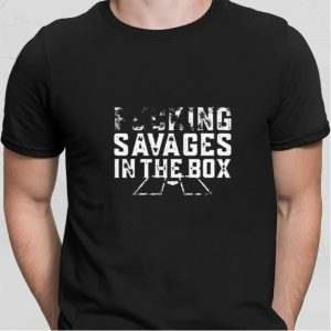 Aaron Judge Fucking savages in the box shirt