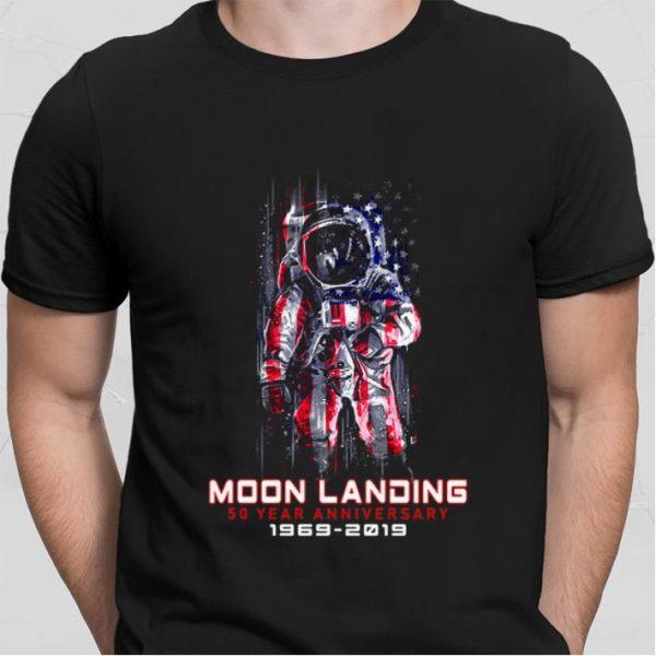 Apollo 11 Moon Landing 50 Year anniversary 1969-2019 shirt